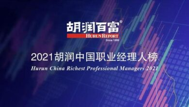 Photo of Ali is the most popular in the list From Hurun China Professional Manager list