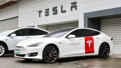 Photo of 4q20 earnings conference call musk said Tesla is currently the leader of China's electric vehicle market From Tesla