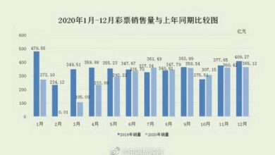Photo of In 2020, the national lottery sales will reach 333.951 billion yuan, a year-on-year decrease of 20.9% From treasury department