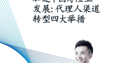 Photo of Four measures of agent channel transformation From Accelerate the development of China's life insurance industry