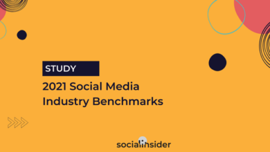Photo of Social media industry benchmark report 2021 From Social