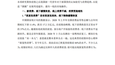 Photo of Report on consumption trend of new youth and new domestic products in 2020 From School of Journalism and communication, Beijing Normal University