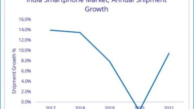 Photo of India's mobile phone market share will decrease by 2% in 2020 From IDC