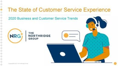 Photo of 2020 customer service experience report From Northridge