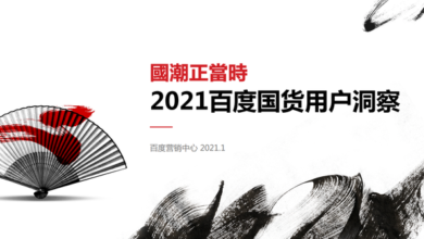 Photo of 2021 insight of Baidu domestic products users