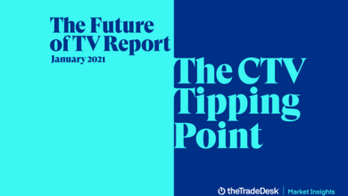 Photo of TV trend forecast report 2021 From TheTradeDesk