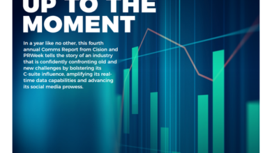 Photo of 2020 Communication Report From Cision&PRweek