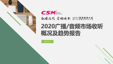 Photo of 2020 radio / audio market overview and Trend Report From CSM