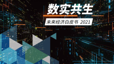 Photo of 2021 white paper on future economy From Tencent & IDC
