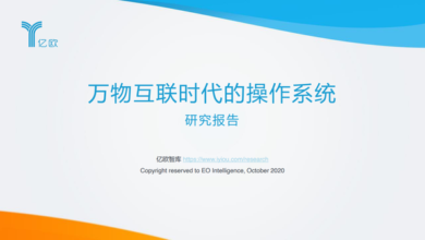 Photo of Operating system report in the era of Internet of things From Yiou think tank