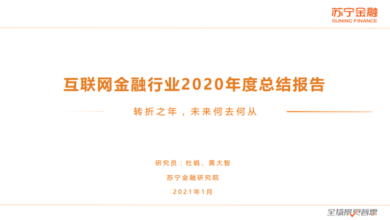 Photo of 2020 Internet finance industry summary report From Suning Financial Research Institute