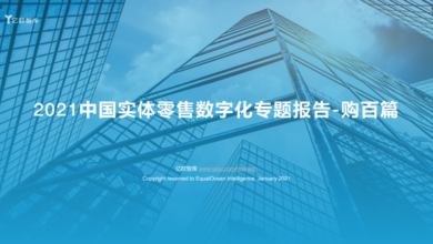 Photo of 2021 digital report on China's physical retail From Yiou think tank