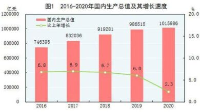 Photo of Statistical bulletin of China's national economic and social development in 2020 From National Bureau of Statistics