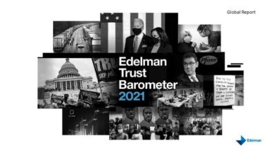 Photo of Trust barometer report 2021 From Edelman