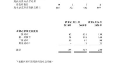 Photo of Naixue tea IPO prospectus and brief data