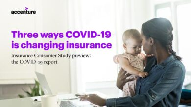 Photo of Three ways of covid-19 changing insurance industry From accenture