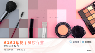 Photo of 2020 Kwai Tai cosmetics industry data value report From Magnetic number