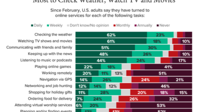 Photo of 34% of Americans think technology companies lack government regulation From Morning Consult