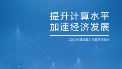 Photo of 2020 global computing power index evaluation report From Inspur Information & IDC