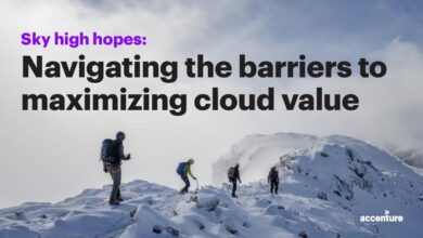 Photo of Overcoming barriers to maximize cloud value From Accenture Report