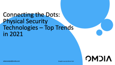 Photo of Important trends of 2021 security technology From Omdia